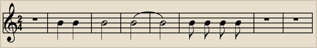 2/4 time has 2 beats to a bar with each beat having a value equal to 1 quarter note