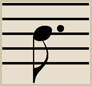 The Dotted Eighth Note equals 3 sixteenth notes