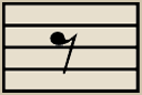 The Eighth Rest gets the same count as the Eighth Note