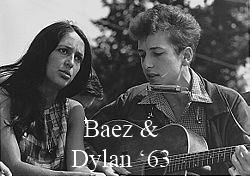 Baez and Dylan 1963