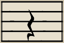 A quarter note rest gets the same count as a Quarter Note