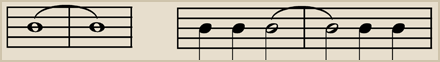 Tied notes, A TIE is represented by a curved line connecting two notes of the same pitch, and means that the note should be held for the duration of both note values.