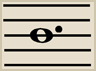 The Dotted Whole Note gets 6 beats.