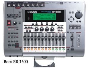 Boss 1600 multitrack