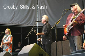 Crosby, Stills,and Nash
